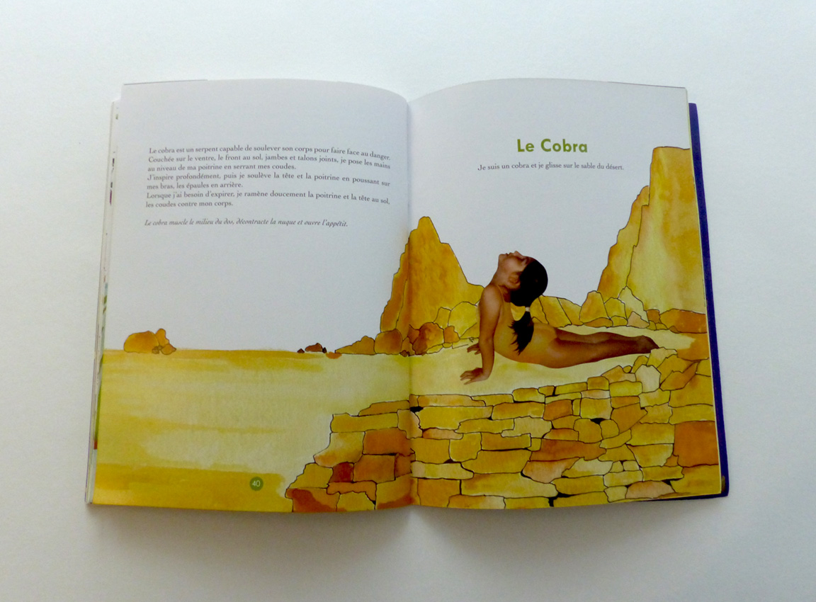 graphiste francesca napoli chineur éditions paris yoga isabelle koch édition jeunesse